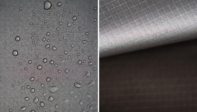 The Glider's Amphibiskin fabric includes a heat reflective coating