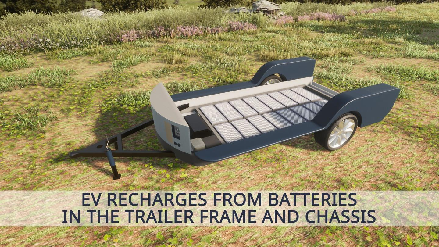 Colorado plans to use an on-chassis battery assembly