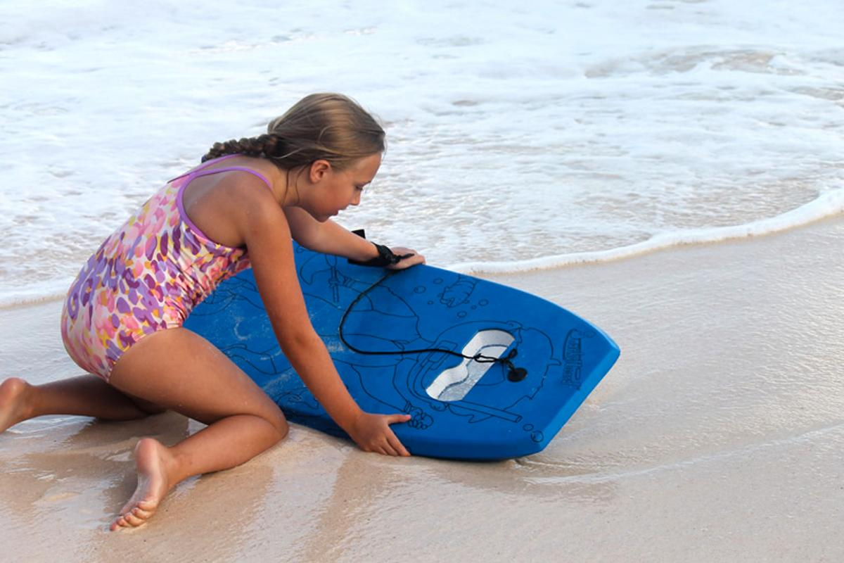 The Snorkelboard – it's like a glass-bottom boat, except a tad smaller