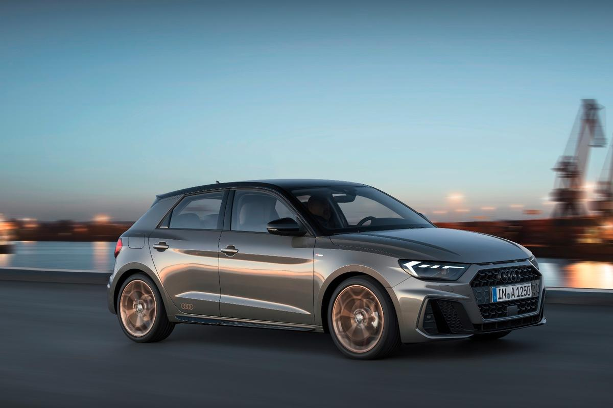 The Audi A1 Sportback has gained about 56 mm in length, putting it at just over four meters without gaining any width or height