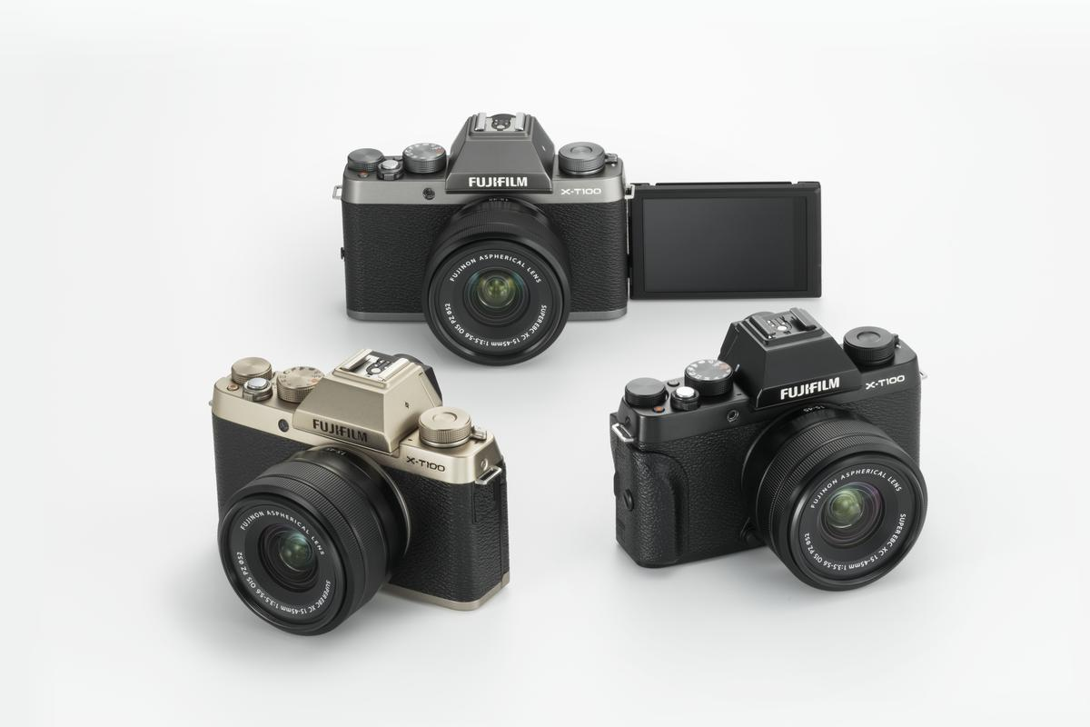 The Fujifilm X-T100 mirrorless camera will be available from June 18