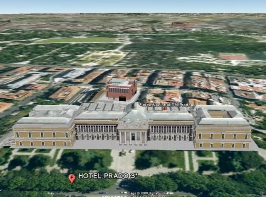 Google Earth now takes you inside the Prado Museum, Madrid