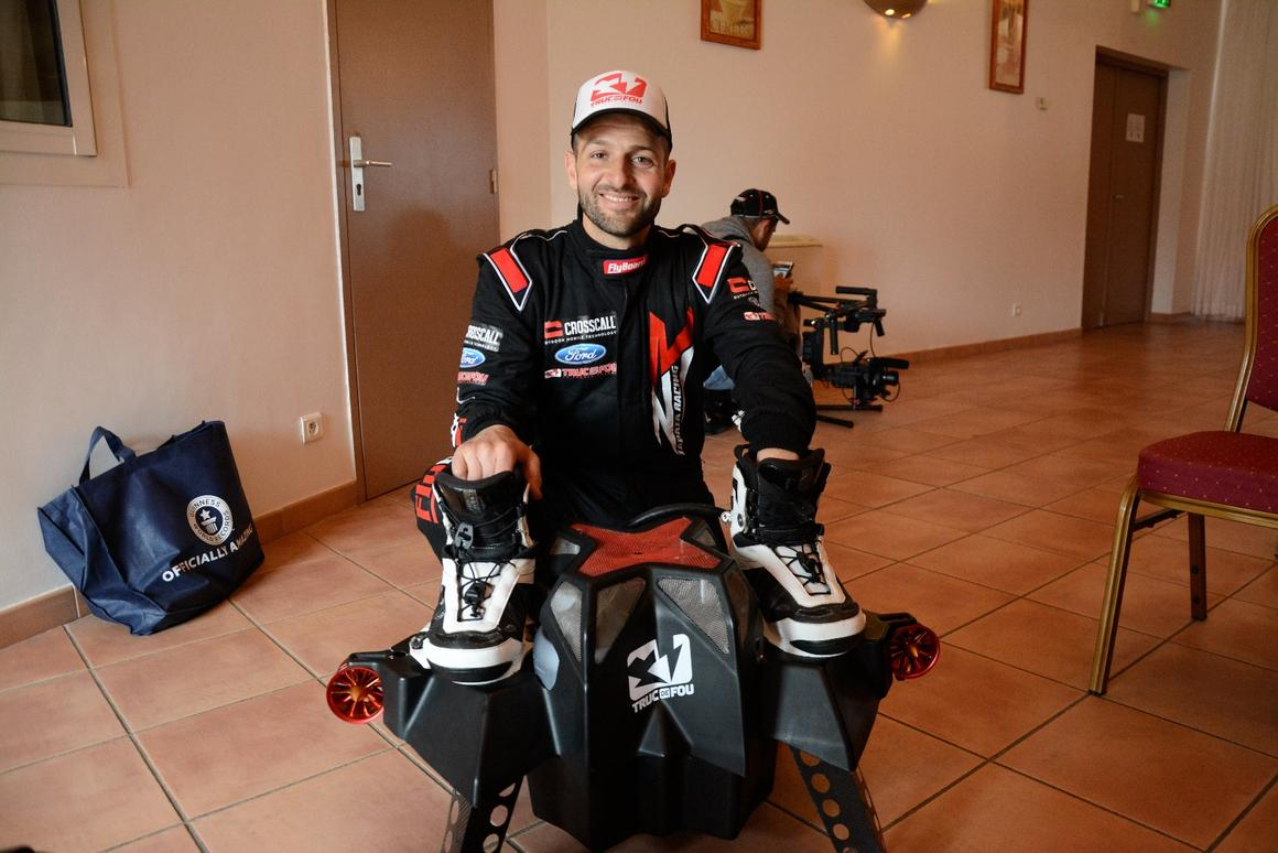 Gizmag talks to Franky Zapata about the Flyboard Air, and the next generation of flying devices