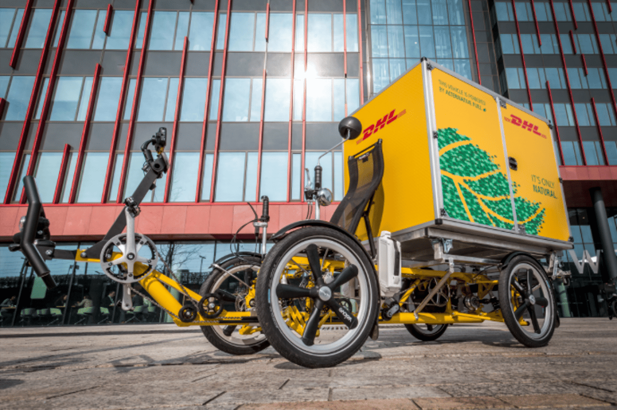 DHL Express Netherlands tests out the Armadillo