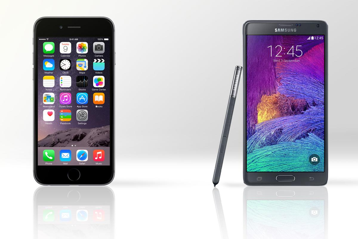 Gizmag compares the features and specs of the iPhone 6 Plus and Samsung Galaxy Note 4