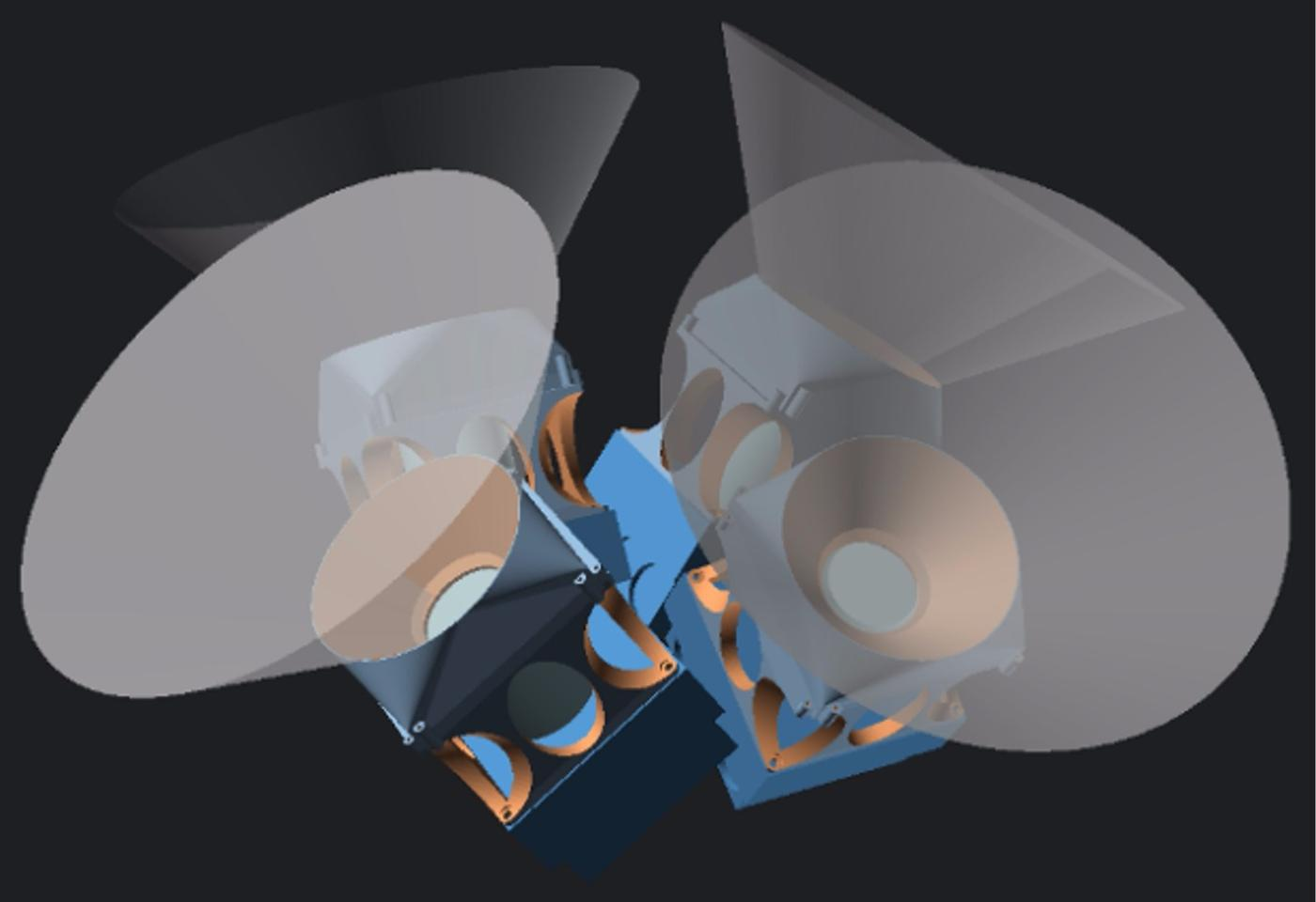 X-ray view of the laser-seeking camera