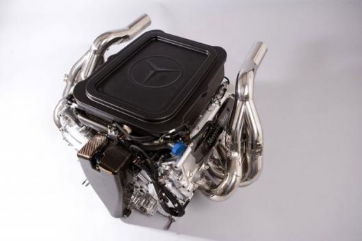 2008 Mercedes-Benz Formula 1 engine FO108V