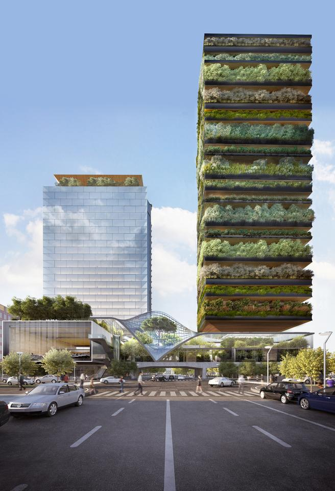 """This project will reinvigorate the iconic former Pirellino building, creating a new tower that mixes architecture and nature to create a green space that is open to the whole city,"" says Stefano Boeri, who has lots of prior experience creating greenery covered buildings"