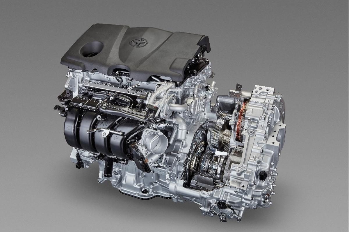 Mated together, the 2.5-liter engine and eight-speed transmission form a complete package for Toyota's new TNGA-based powertrain architecture