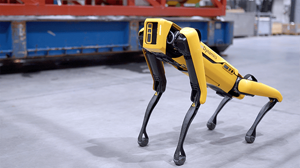 Boston Dynamics' Spot robot is set to be trialed on an oil rig in the Norwegian Sea this year