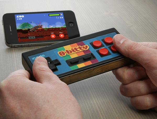 The 8-Bitty is compatible with the iCade-compatible games library including Atari Greatest Hits