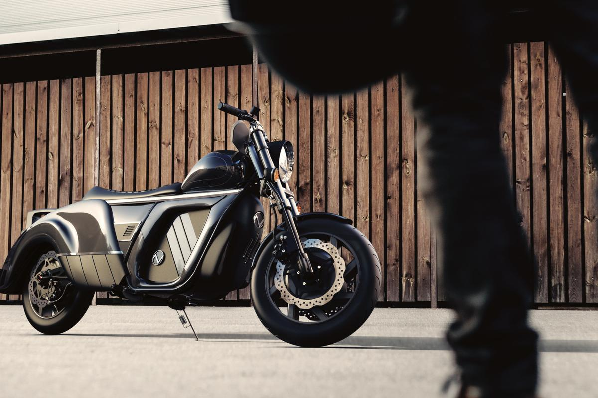 A cruisy, retro-futurist Electrocycle from a new startup called Zaiser
