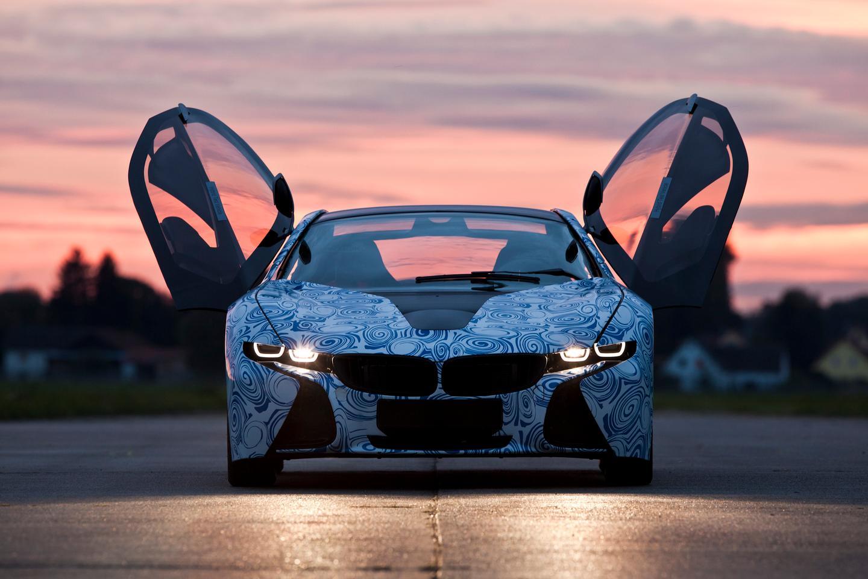Road-ready technology showcase of BMW's Vision EfficientDynamics plug-in hybrid sports car