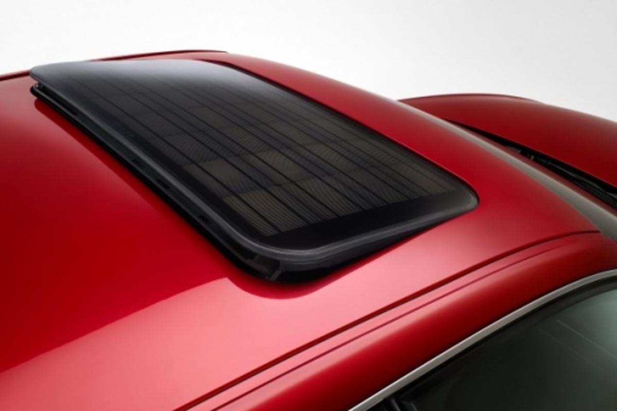 SEAT solar sunroof