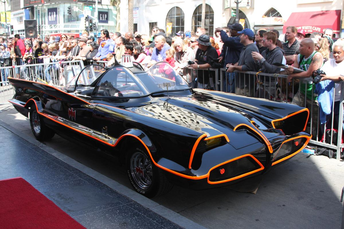 The original Batmobile is being auctioned off next month (Photo: Helga Esteb / Shutterstock.com)