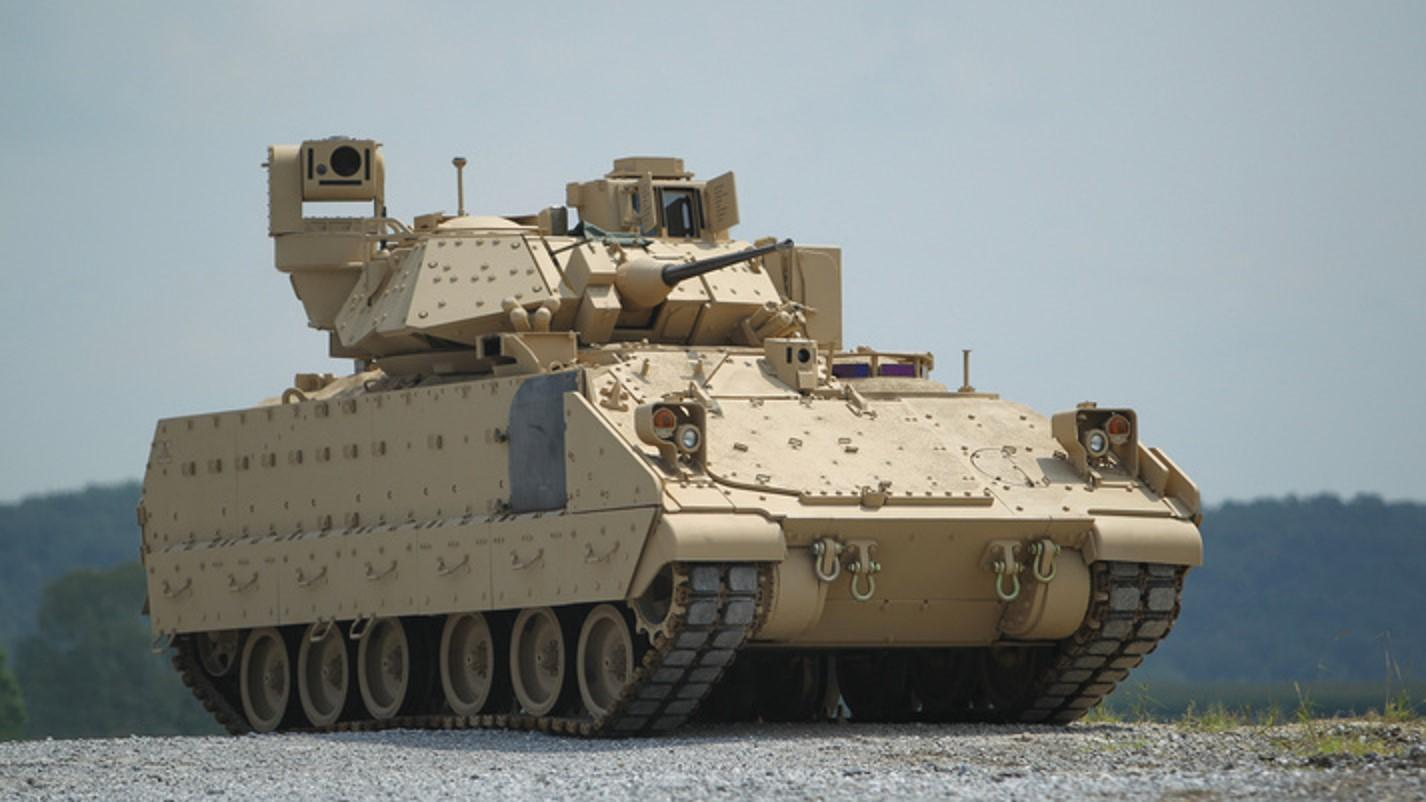 The new vehicle could replace the previous version of the Bradley shown here