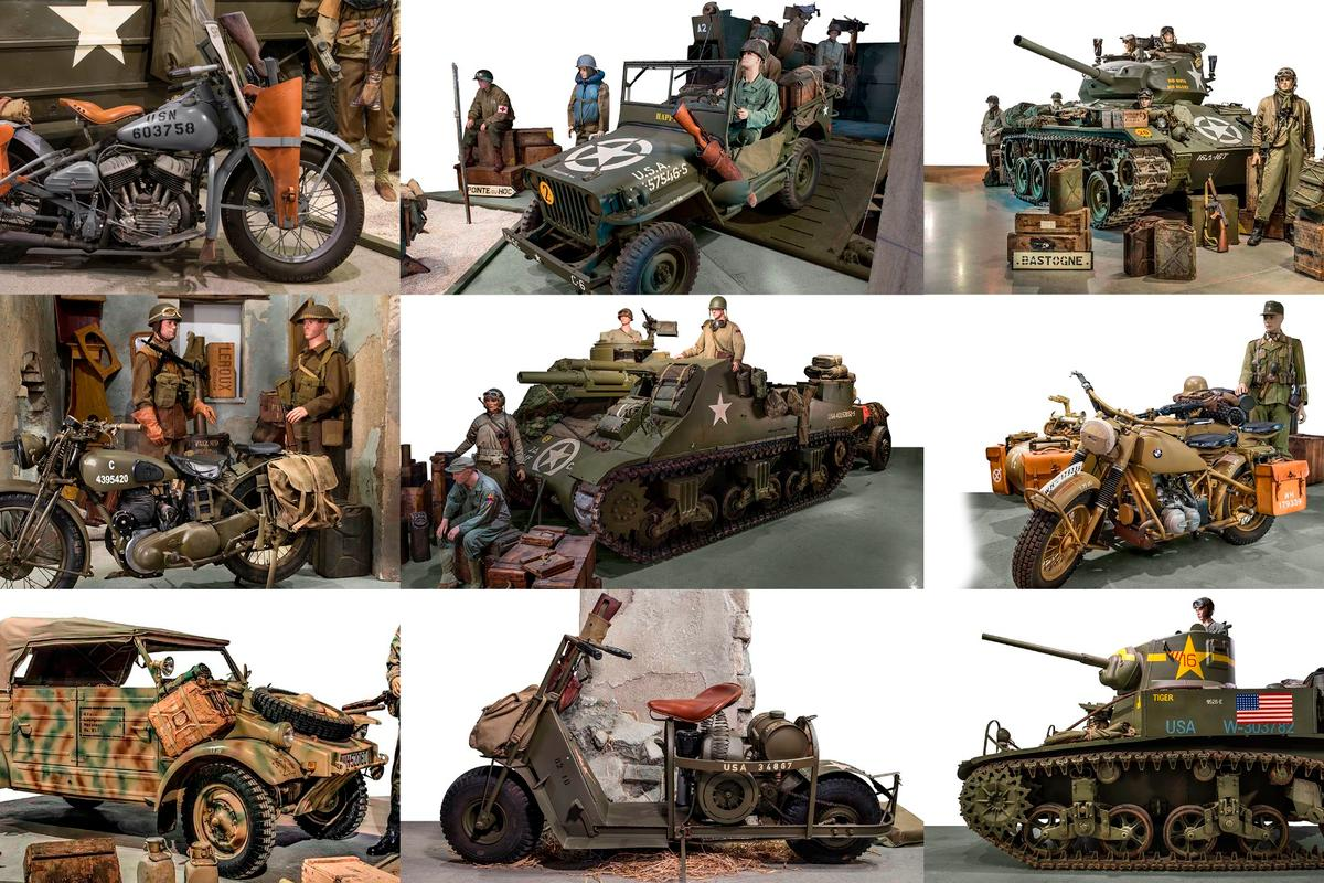Artcurial's D-Day Sale saw the entire contents of the Normandy Tank Museum go under the hammer