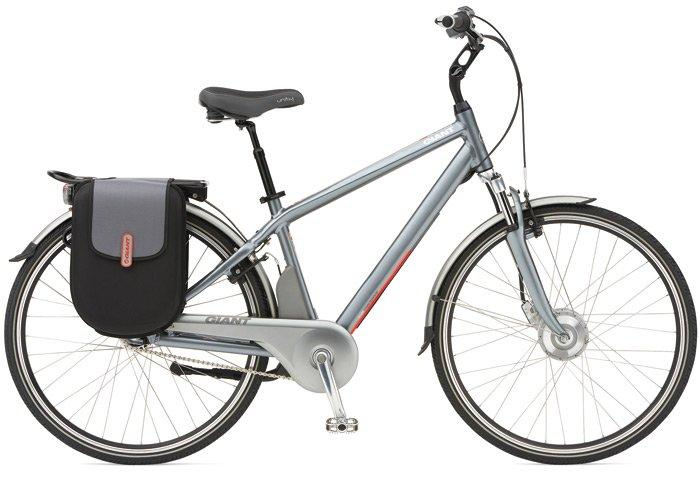 The 2011 Giant Twist ebike has a claimed maximum range of almost 100 miles