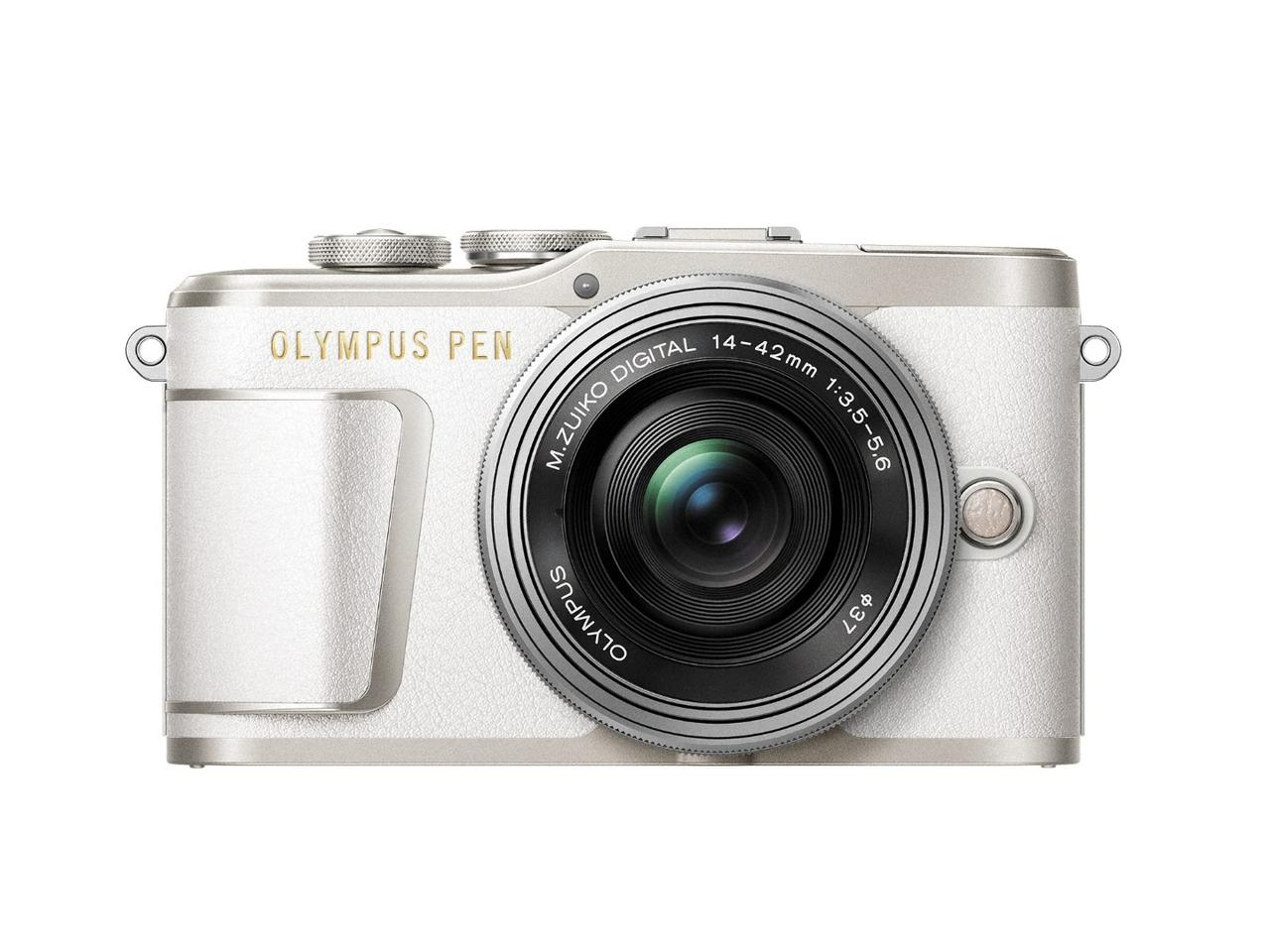 The Olympus PEN E-PL9 has been treated to a new grip design for improved ergonomics