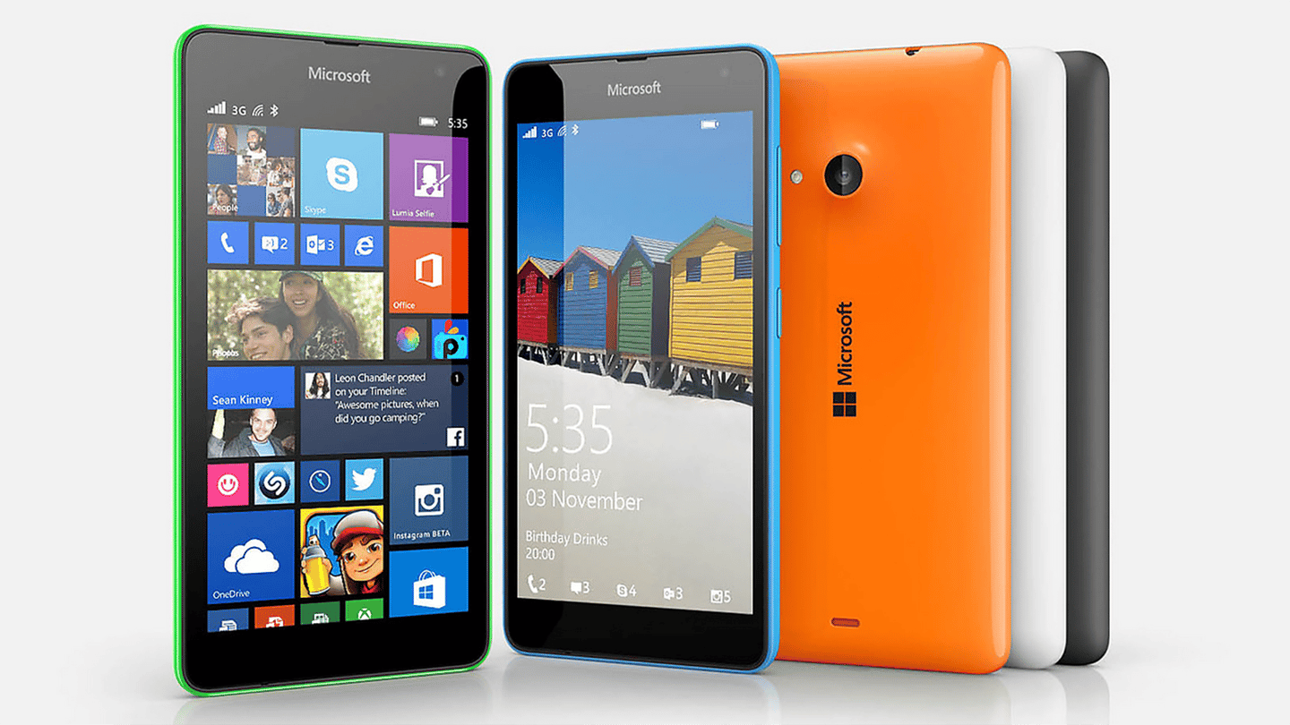 Microsoft's new smartphone is a budget device with familiar Lumia styling
