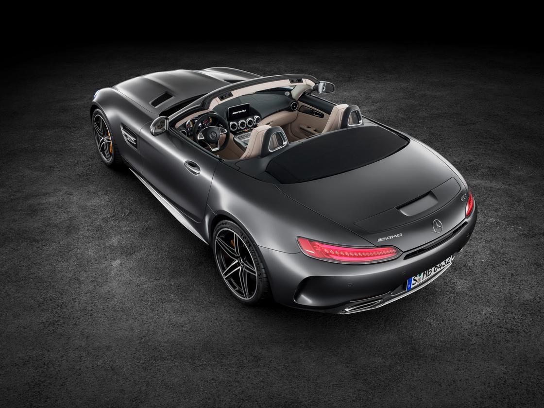 TheAMGGT Roadster shares its interior with the coupe