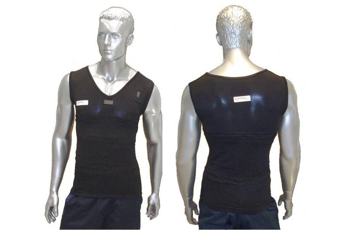 The Chronius project has developed a T-shirt fitted with sensors to remotely monitor patients with chronic diseases