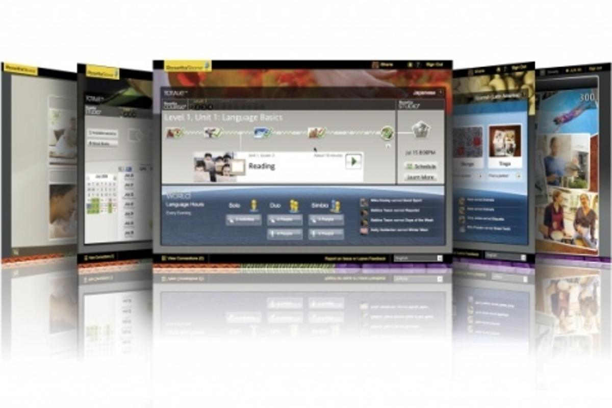 Rosetta Stone TOTALe is a new online language-learning package that enhances the effectiveness of the Rosetta Course