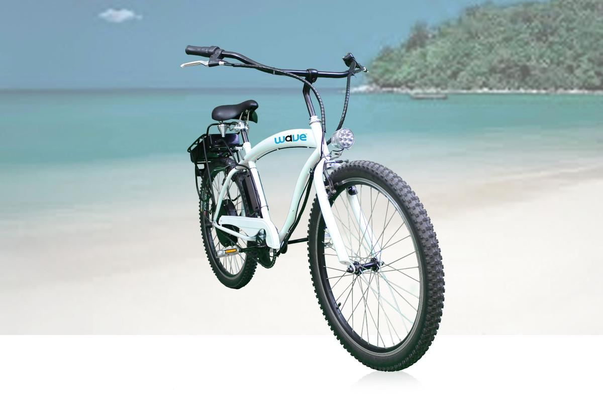 The Wave eBike is claimed to cost half that of electric bikes of comparable performance