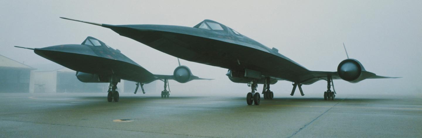The SR-71 was derived from the earlier A-12 (Image: Lockheed Martin)