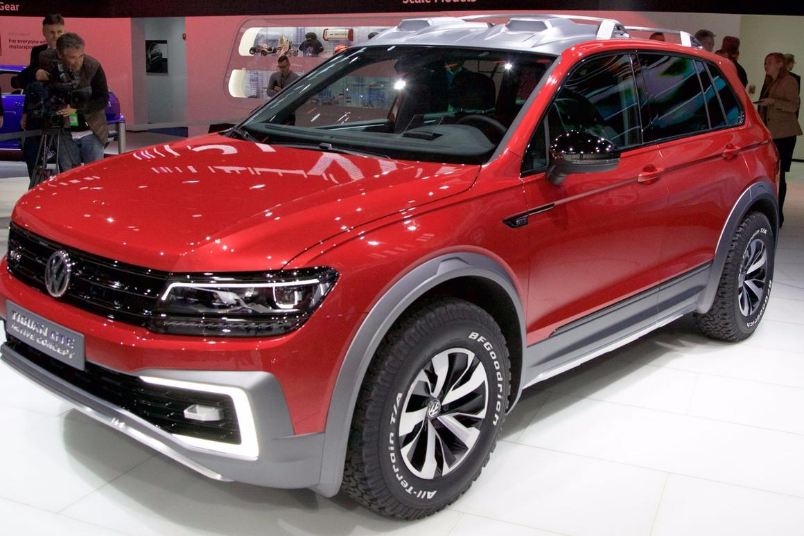 The Tiguan GTE Active Concept is a completely redeveloped second-generation vehicle