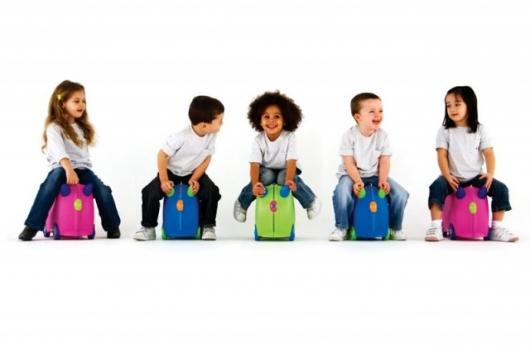 Trunki: ride-on suitcase for kids