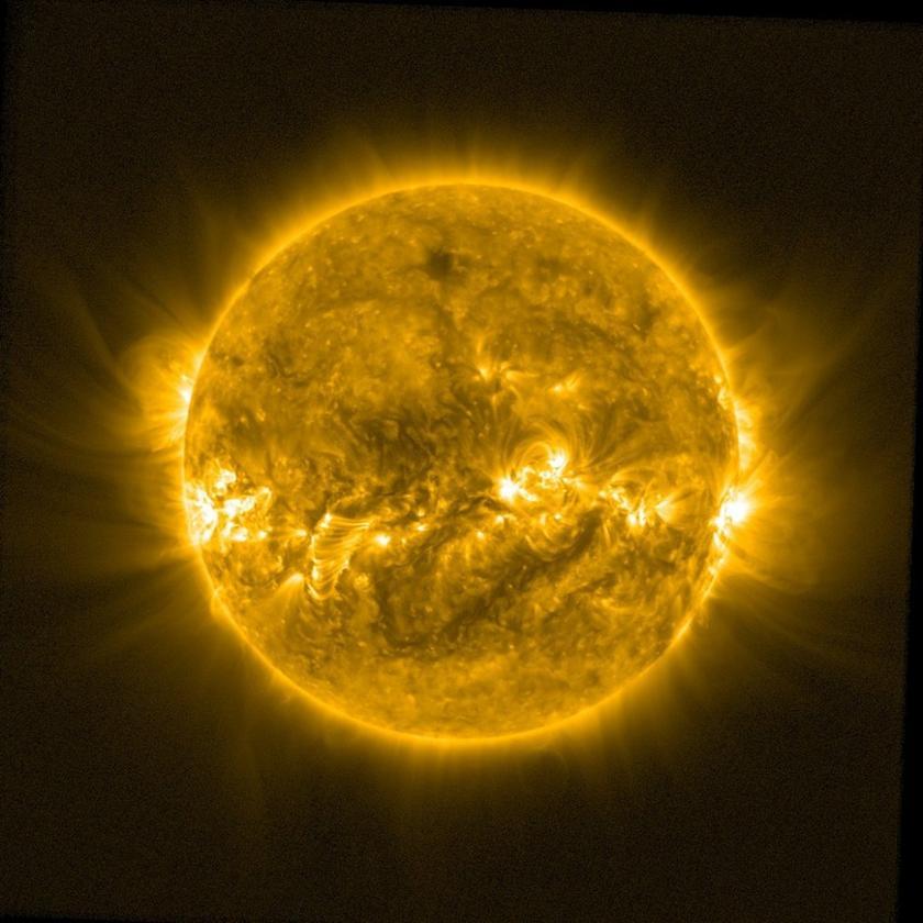 Image of the Sun taken by ESA's Proba-2 satellite