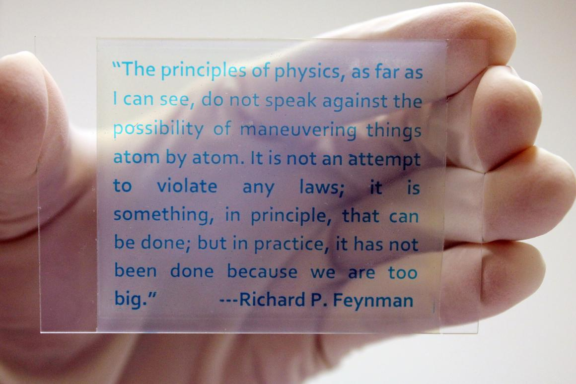 Chemists at the University of California, Riverside have created rewritable paper that can be printed on and erased many times over (Photo: UCR)
