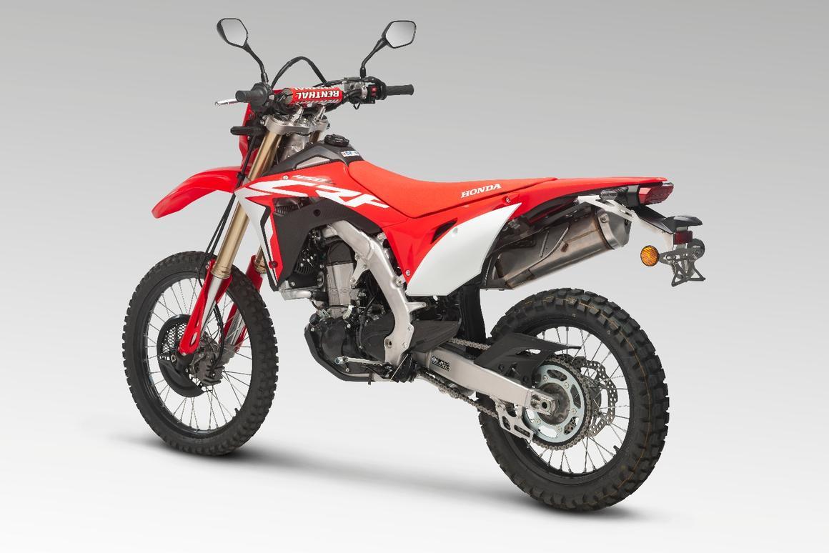 Honda puts hardcore adventure on the menu with street-legal