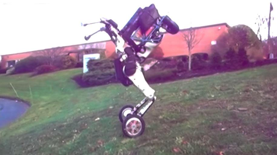 Boston Dynamics' Handle robot sports wheels for improved efficiency