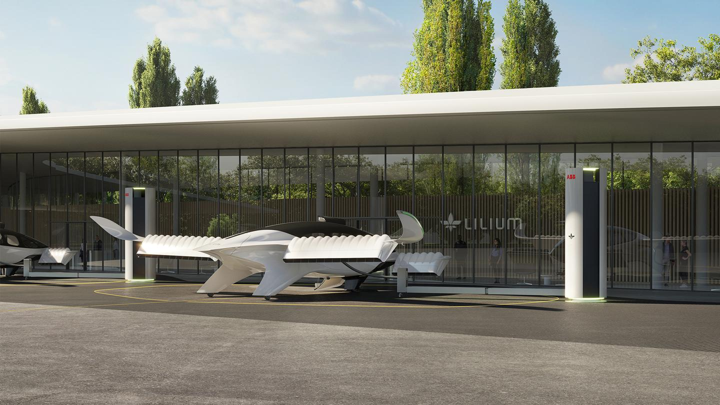 Lilium and ABB are designing a megawatt-class charger for eVTOL air taxis
