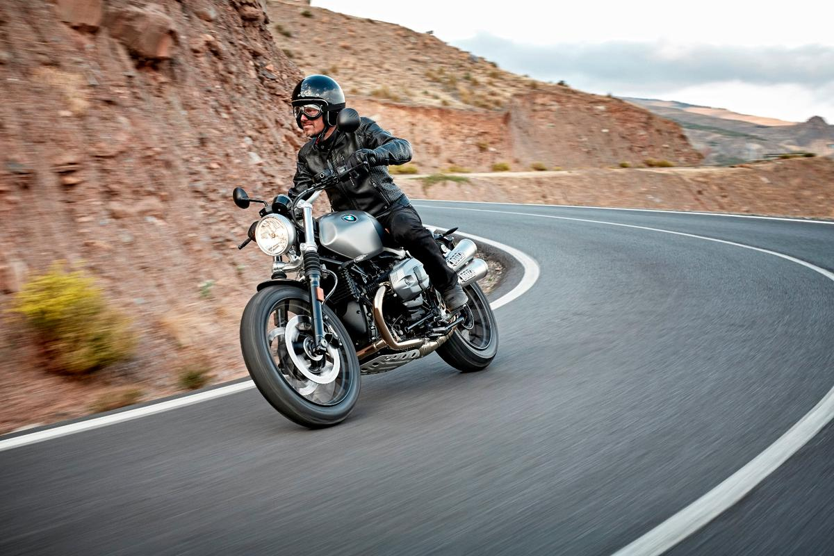 On the road with the new BMW R nine T Scrambler