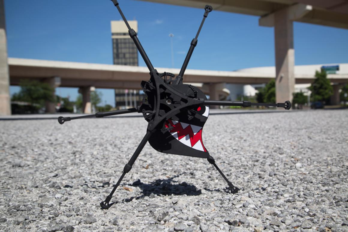 The OutRunner robot – are six legs better than four wheels?