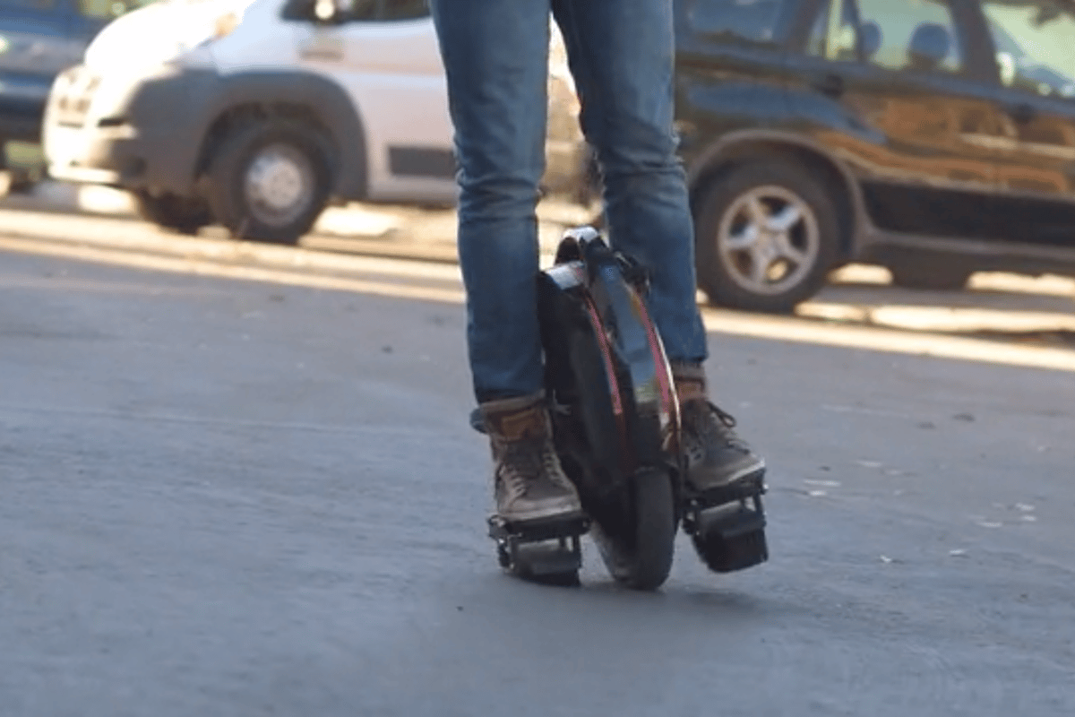 Solowheel makes a very pleasing swooshing noise as you ride by