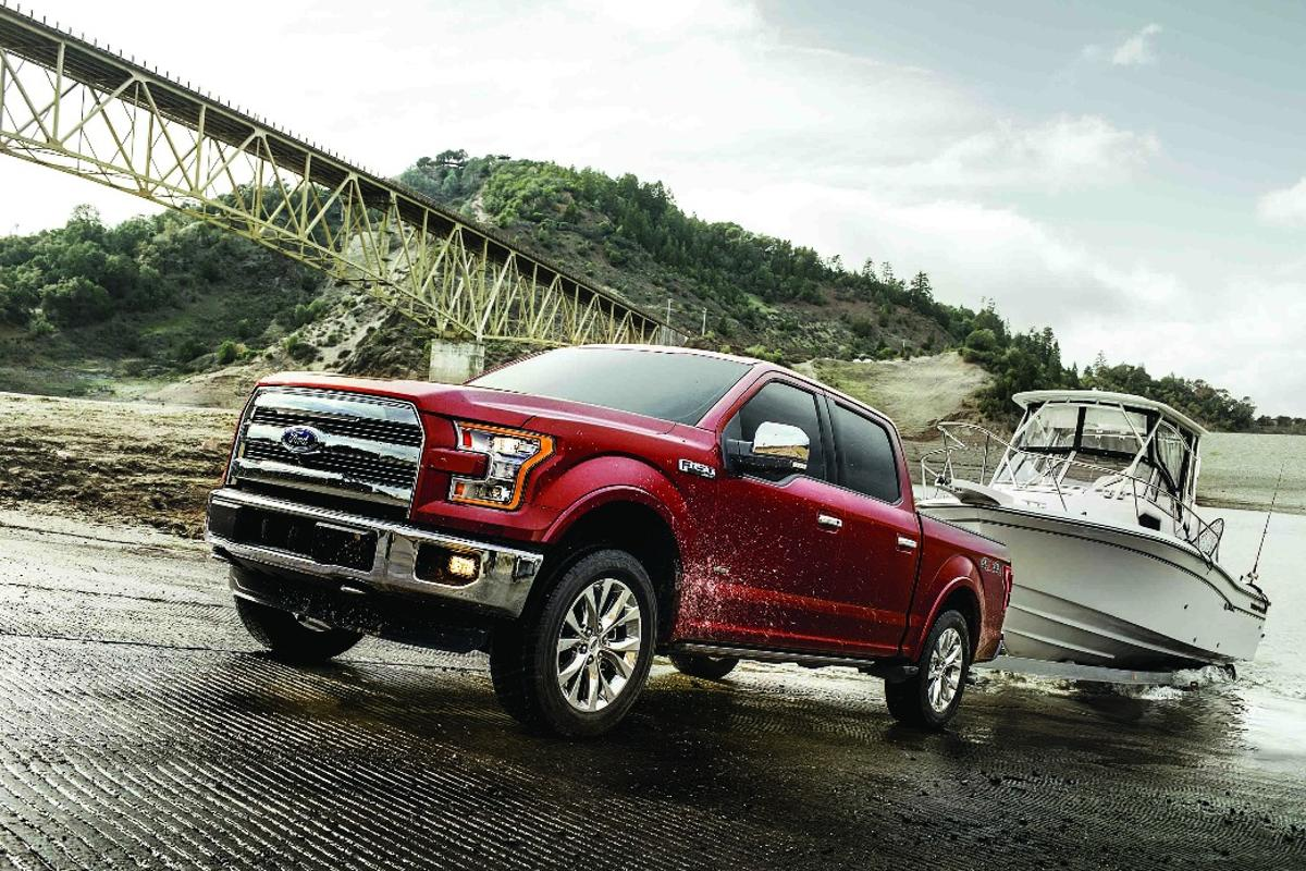 The F-150 has best-in-segment torque figures courtesy of the V6 EcoBoost