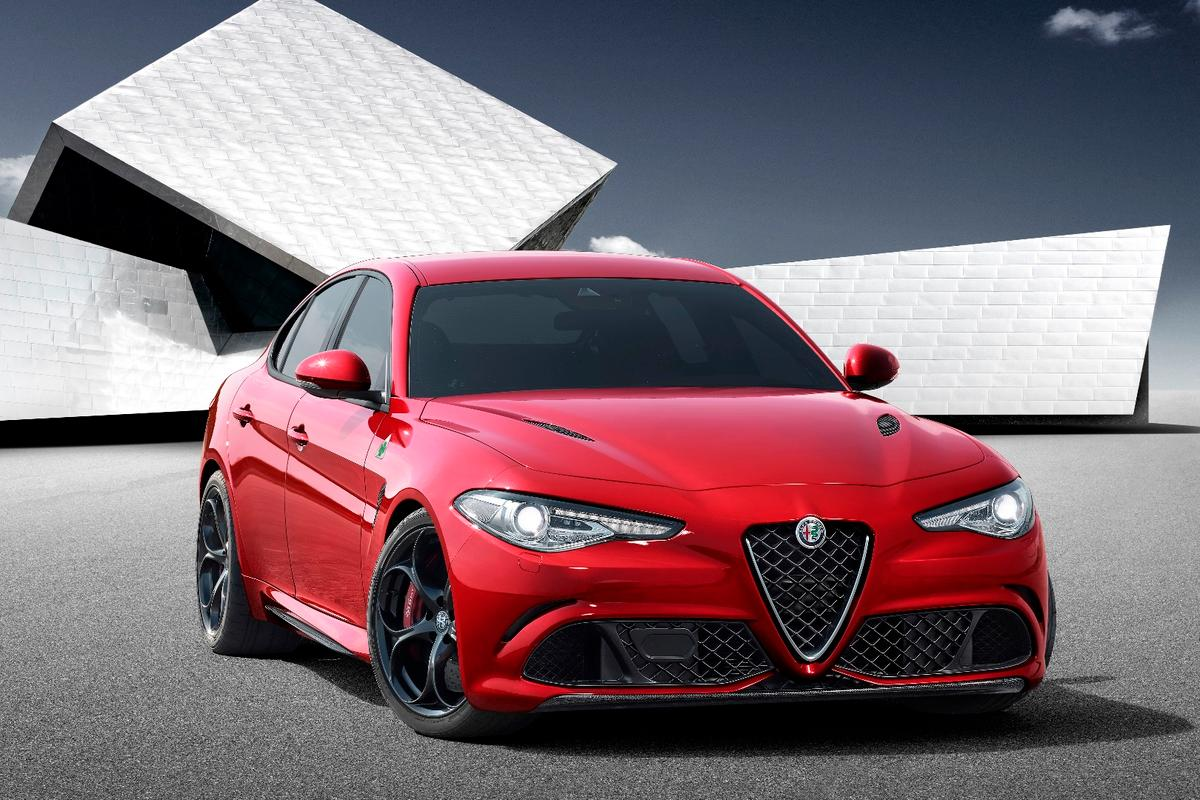 The Giulia is a sharp looking car, but styling has always been an Alfa strength
