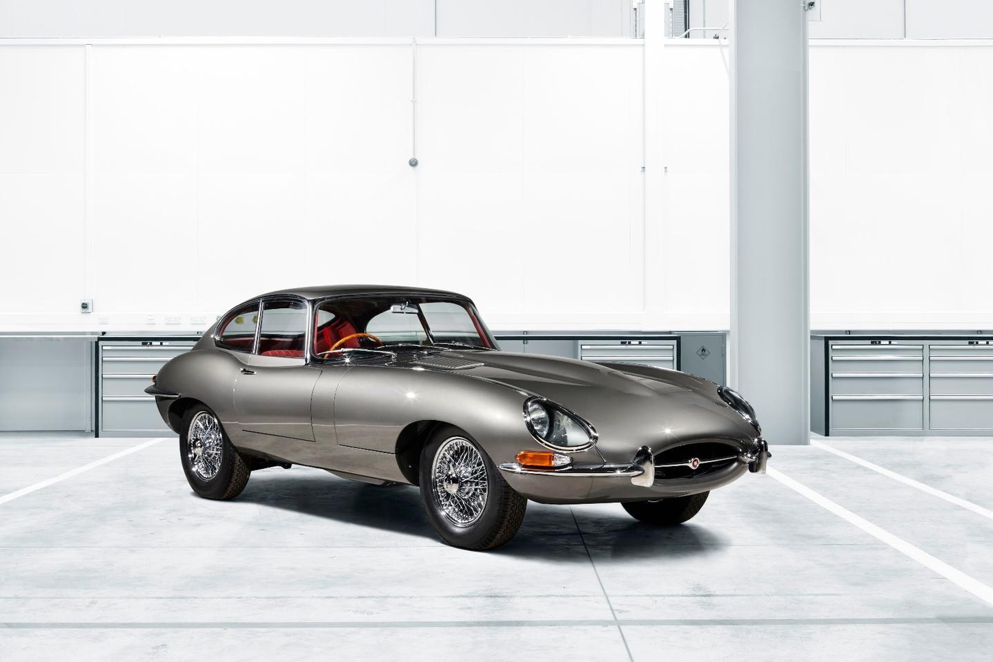 Jaguar's first E-type Reborn