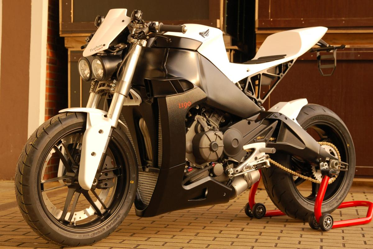 The Buell-based Typhon 1190 streetfighter