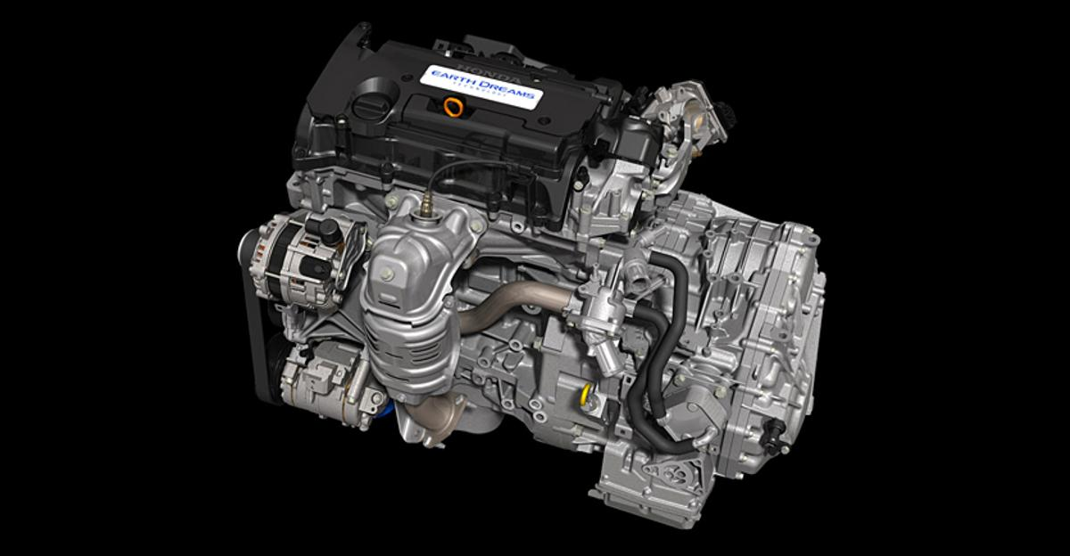"""Honda's new 2.4L engine is part of a wide range of engine classes developed for the company's """"Earth Dreams Technology"""" initiative"""