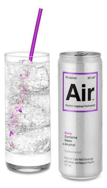 Air promises to be one of the lightest alcoholic drinks at the bar