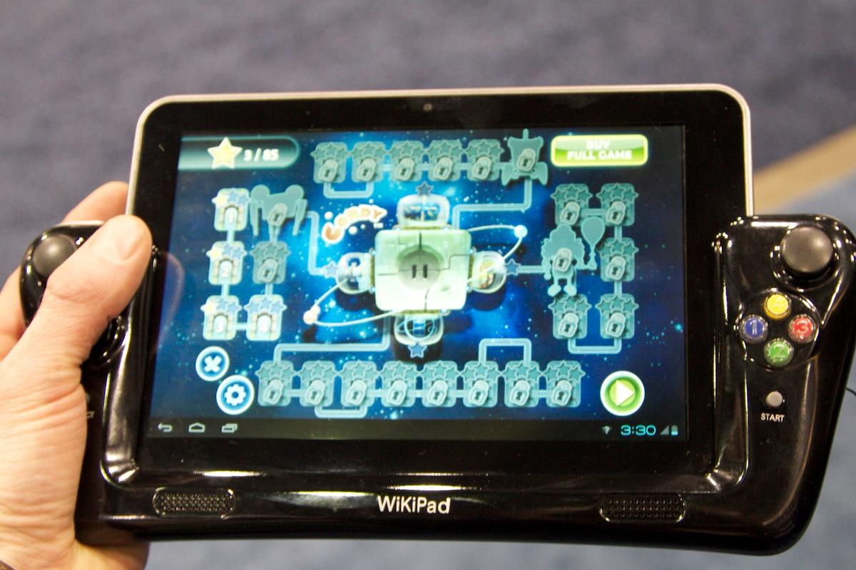 Wikipad on display at CES 2012