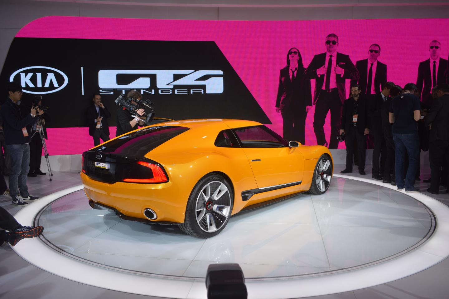 There are no plans to put the GT4 Stinger into production
