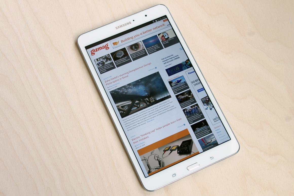 Gizmag reviews Samsung's first premium mini-tablet, the Galaxy Tab Pro 8.4