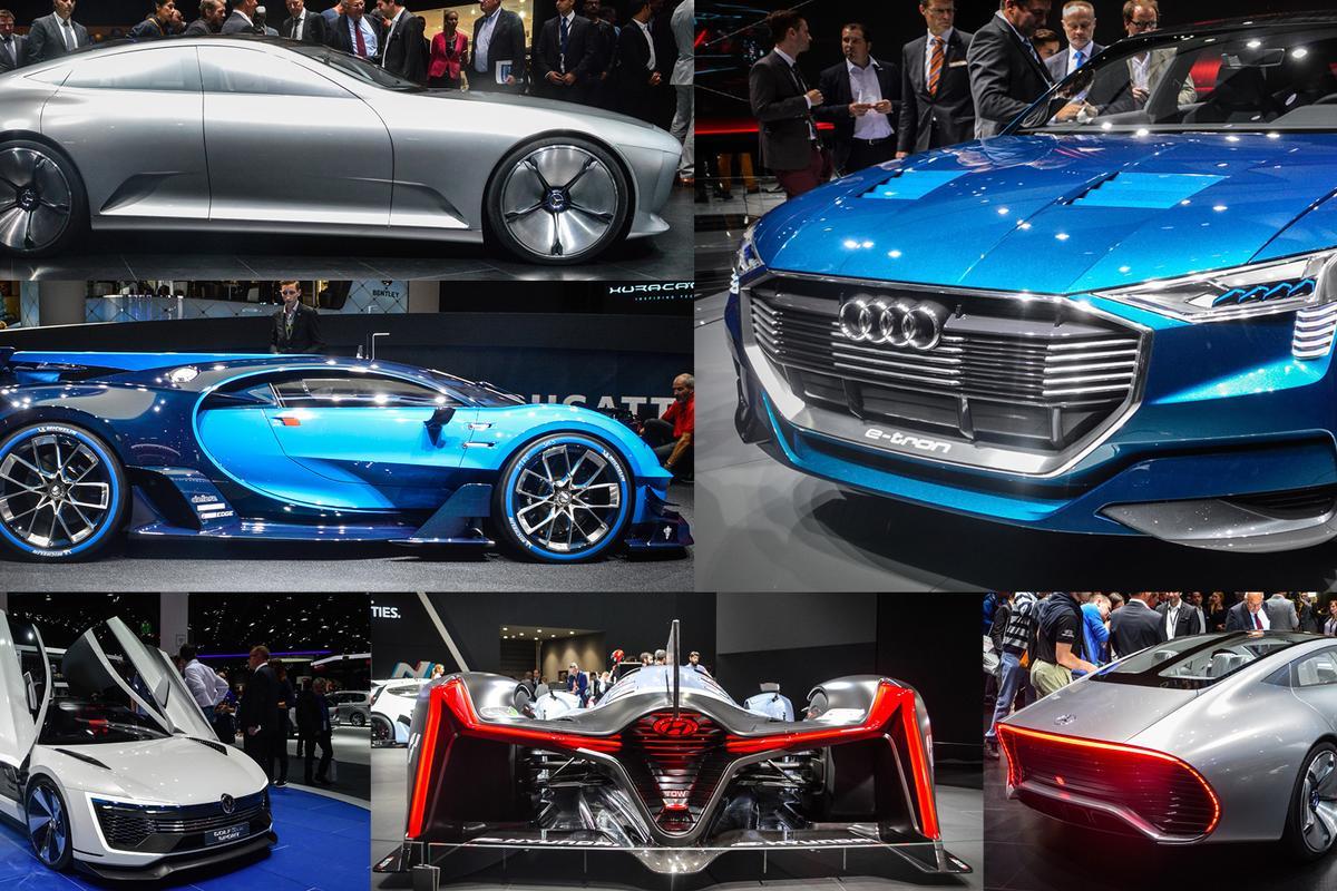 Concept cars of the 2015 Frankfurt Motor Show