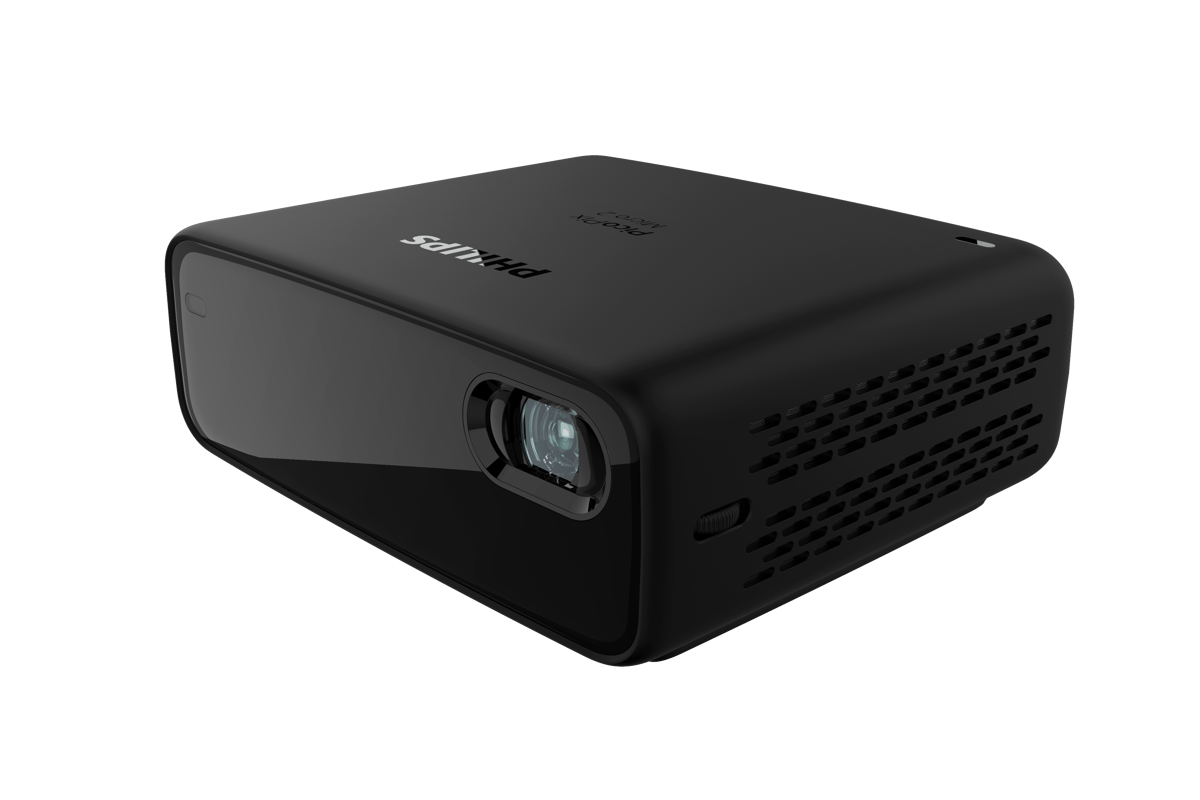 The PicoPix Max One DLP projector can throw 120-inch Full HD images in 16:9 or 4:3 aspects
